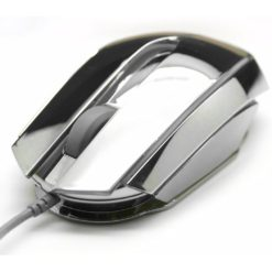 Mouse Gaming USB 2400dpi Mood Silver EMS617