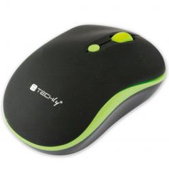 Mouse Wireless 2.4GHz 800-1600 dpi Nero/Verde
