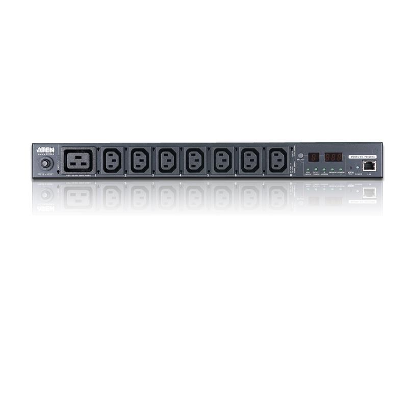 Multipresa Rack PDU 7xC13 + C19 Misurazione PDU PE5208