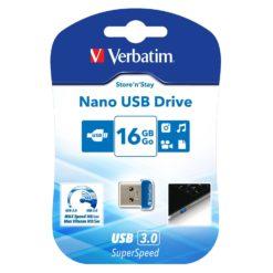 NANO Memoria USB 3.0 16GB Blu