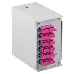 Pannello Frontale 6 Connessioni SC-Duplex per Box Ottico