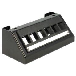 Pannello di Distribuzione 6 porte Keystone Nero