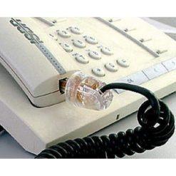 Plug Telefonico RJ11 Maschio 4 Poli 4 Contatti Antiattorcigliamento