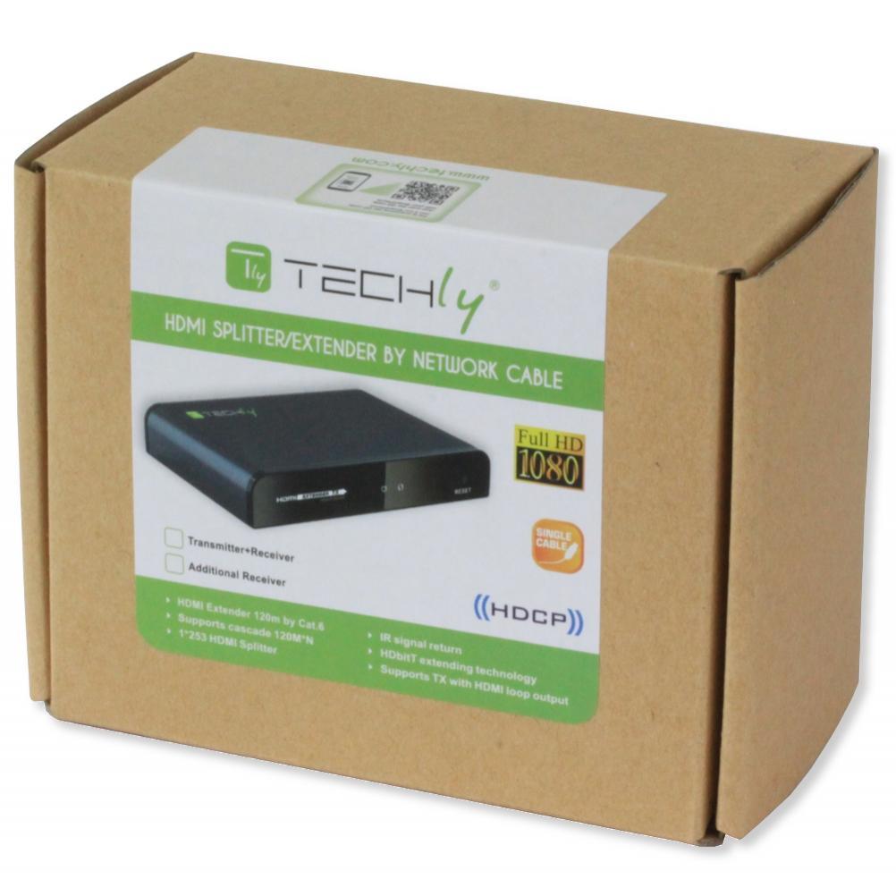 Ricevitore Aggiuntivo per Extender HDMI HDbitT con IR su Cavo di Rete