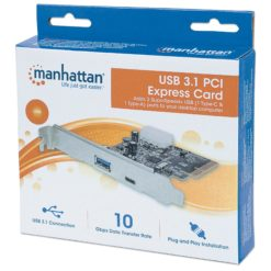 Scheda PCI Express USB 3.1 SuperSpeed