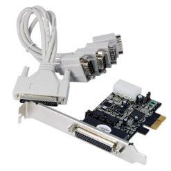 Scheda Seriale RS-232 4 Porte PCI Express con 16C950 UART