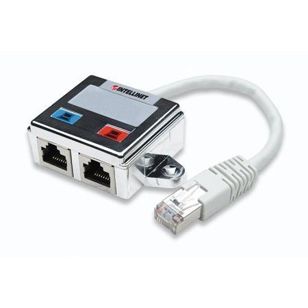 Sdoppiatore rete / telefono per cavo di rete Cat. 5E