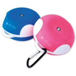 Speaker Portatile Bluetooth Wireless Sport MicroSD Azzurro