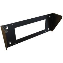 Staffa di Montaggio da Muro Verticale 19'' Easyline 2U Nero