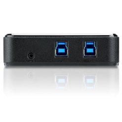 Super Hub per Condivisione 4 Periferiche su 2 PC USB3.0, US234