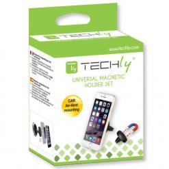 Supporto Magnetico da Auto per Smartphone e Tablet Nero