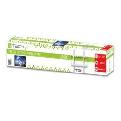 Supporto a Muro Fisso Slim per TV LED LCD 23-55'' Bianco