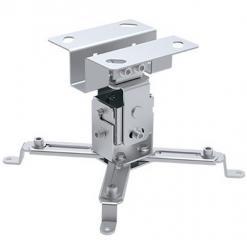 Supporto a Soffitto per Proiettori 130 mm Silver