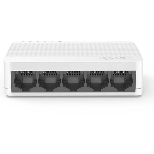 Switch Ethernet Desktop Compatto 5 Porte 10/100 Mbps Bianco