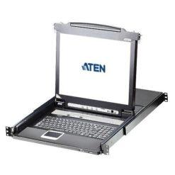 Switch KVM USB-PS2 VGA 8 Porte con LCD 17'' e Porta USB, CL5708M