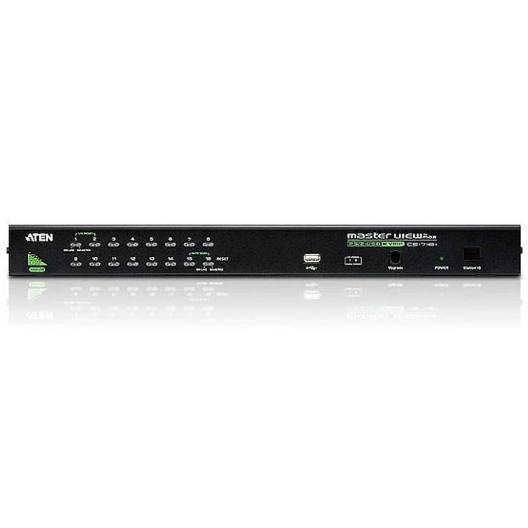 Switch KVM USB-PS2 VGA a 16 porte con USB, CS1716A