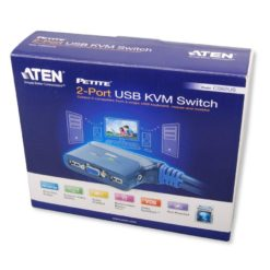 Switch KVM USB VGA a 2 Porte con Audio, CS62US