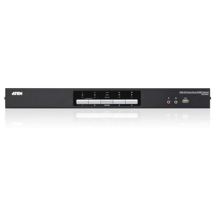 Switch KVMP USB DVI Dual View a 4 porte, CS1644A