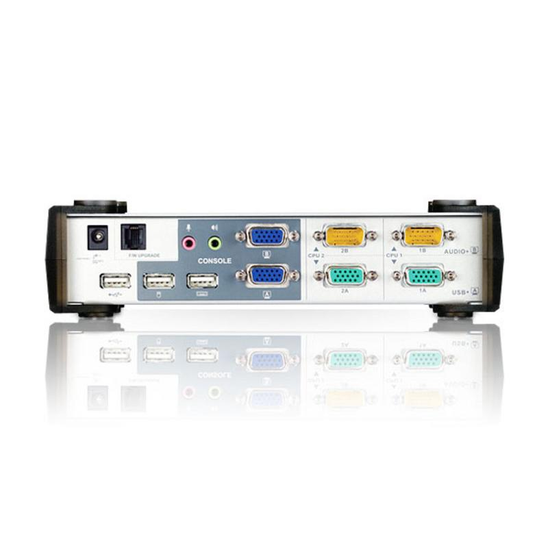 Switch KVMP USB VGA Dual Display 2 porte, CS1742