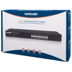 Switch PoE+ 16 Porte, Desktop / Rack