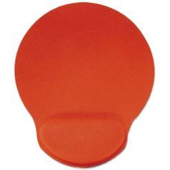 Tappetino con Poggia-Polso in Gel, colore Rosso