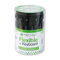 Tastiera Flessibile in Silicone USB/PS2