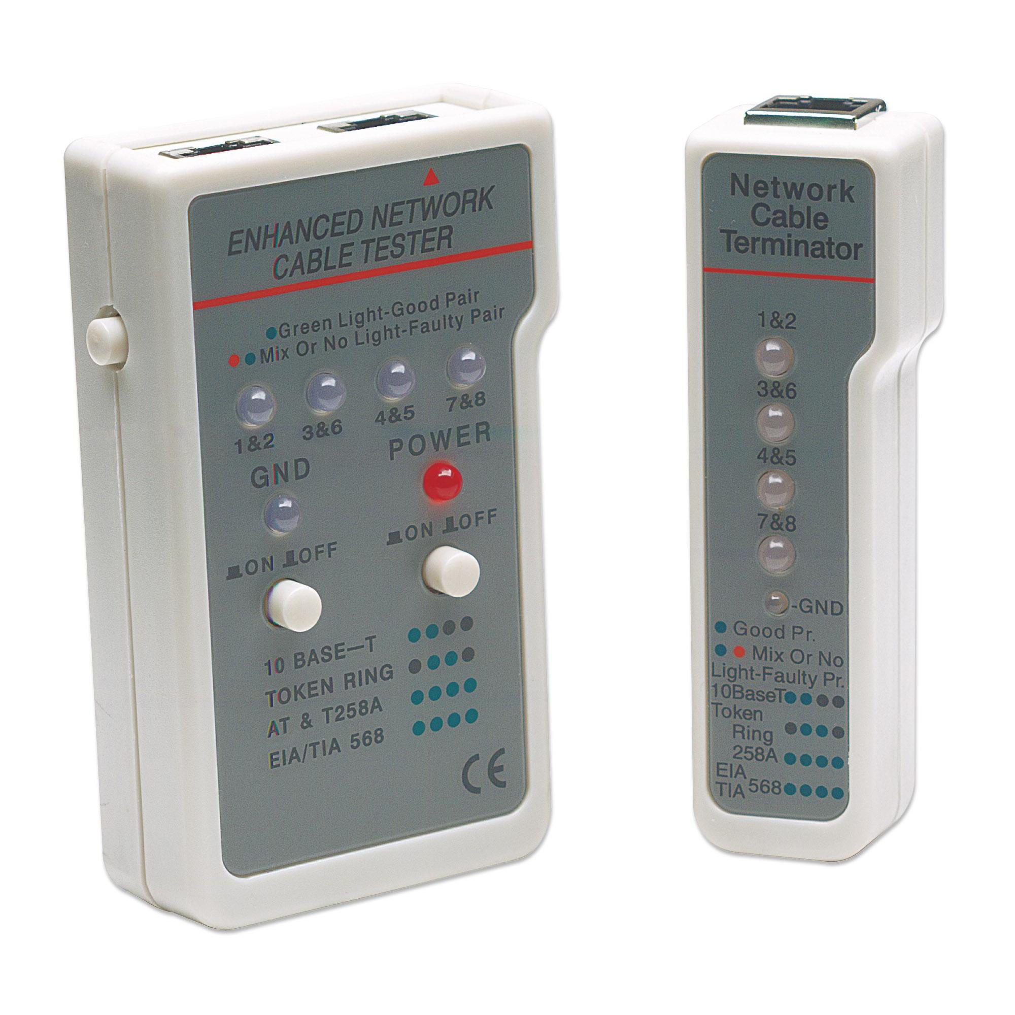 Tester Multifunzione per Cavi di Rete RJ45 / RJ11