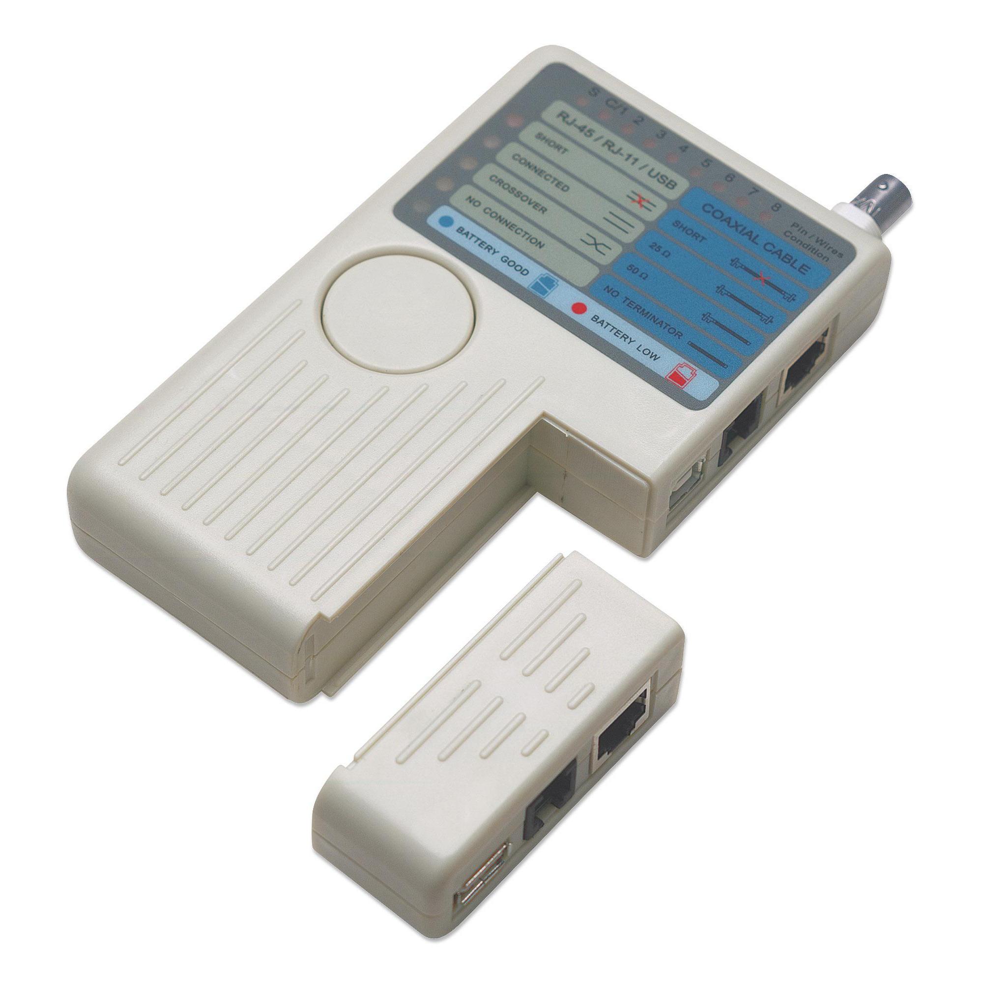 Tester Remoto per Reti Ethernet 4-in-1