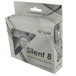 Ventola Silent 80x80x25 12 Volt
