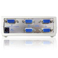 Video Switch 4 vie SVGA con alimentatore, VS491