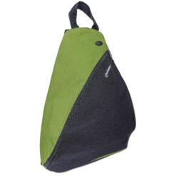 Zainetto Monospalla per Tablet e Ultrabook fino a 12'' Nero/Verde