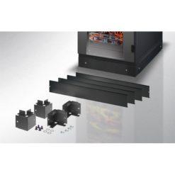 Zoccolo 600 x 1000 mm per Armadi Server Rack Nero