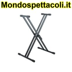 K&M black Keyboard stand Rick 20 18993-015-55