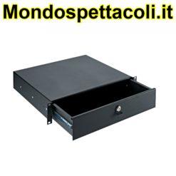 K&M black Rackmount storage 49122-072-55
