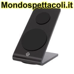K&M black Tablet-PC stand 19855-000-55