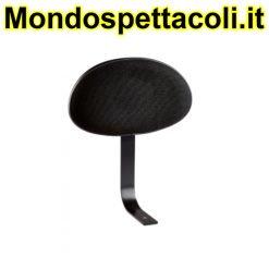 K&M black fabric Backrest 14033-000-55