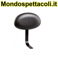 K&M black imitation leather Backrest 14032-000-55