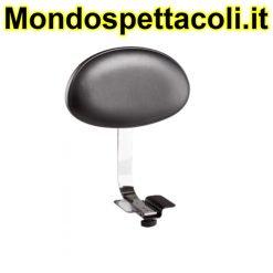 K&M chrome Backrest for Gomezz 14005-000-02