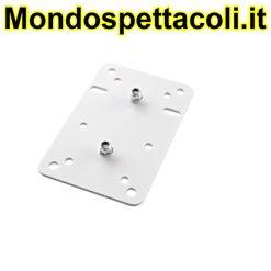 K&M white Adapter panel 1 24352-000-57