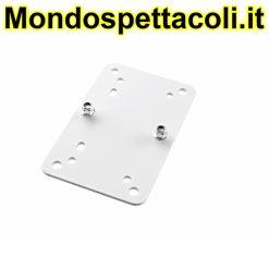 K&M white Adapter panel 2 24354-000-57