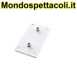 K&M white Adapter panel 3 24356-000-57