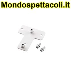 K&M white Adapter panel 6 24359-000-57