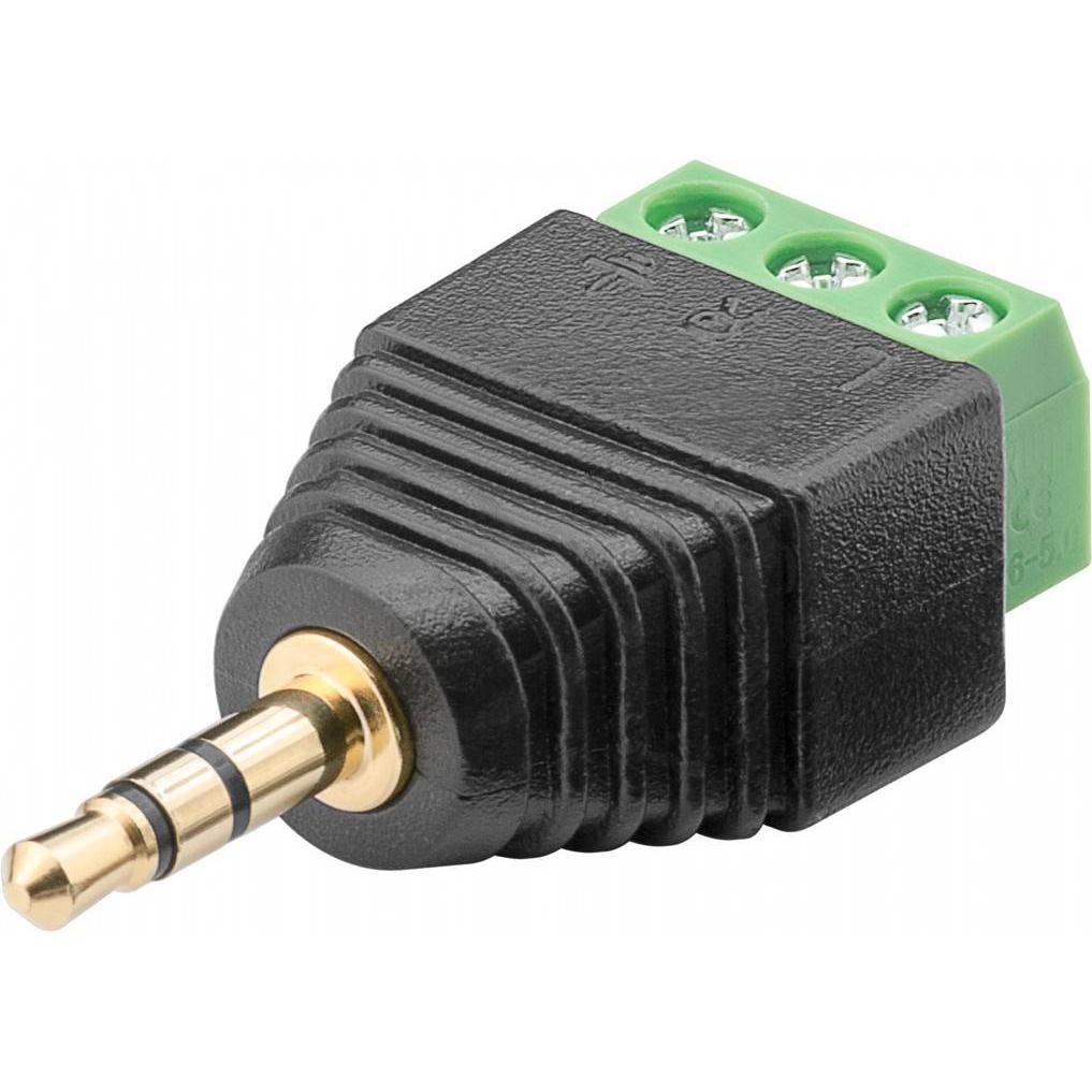 Adattatore Audio 3.5'' Maschio a Terminal Block 3 pin