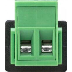 Adattatore DC 5.5x2.10 mm Maschio Terminal Block 2 pin