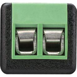 Adattatore Terminal Block 2-pin a BNC maschio