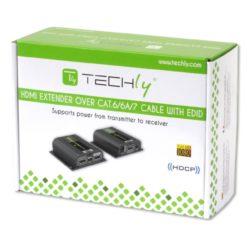 Amplificatore Extender HDMI Full HD 3D POE su cavo Cat.6/6A/7 40m con EDID ed IR