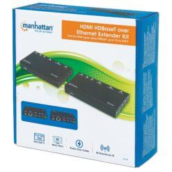 Amplificatore HDMI HDBaseT Tramite Kit di Espansione Ethernet