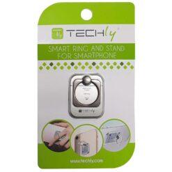 Anello e Supporto per Smartphone Silver