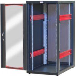 Armadio Server Rack 19'' 600x1000 20 Unita' Nero serie IdealNET