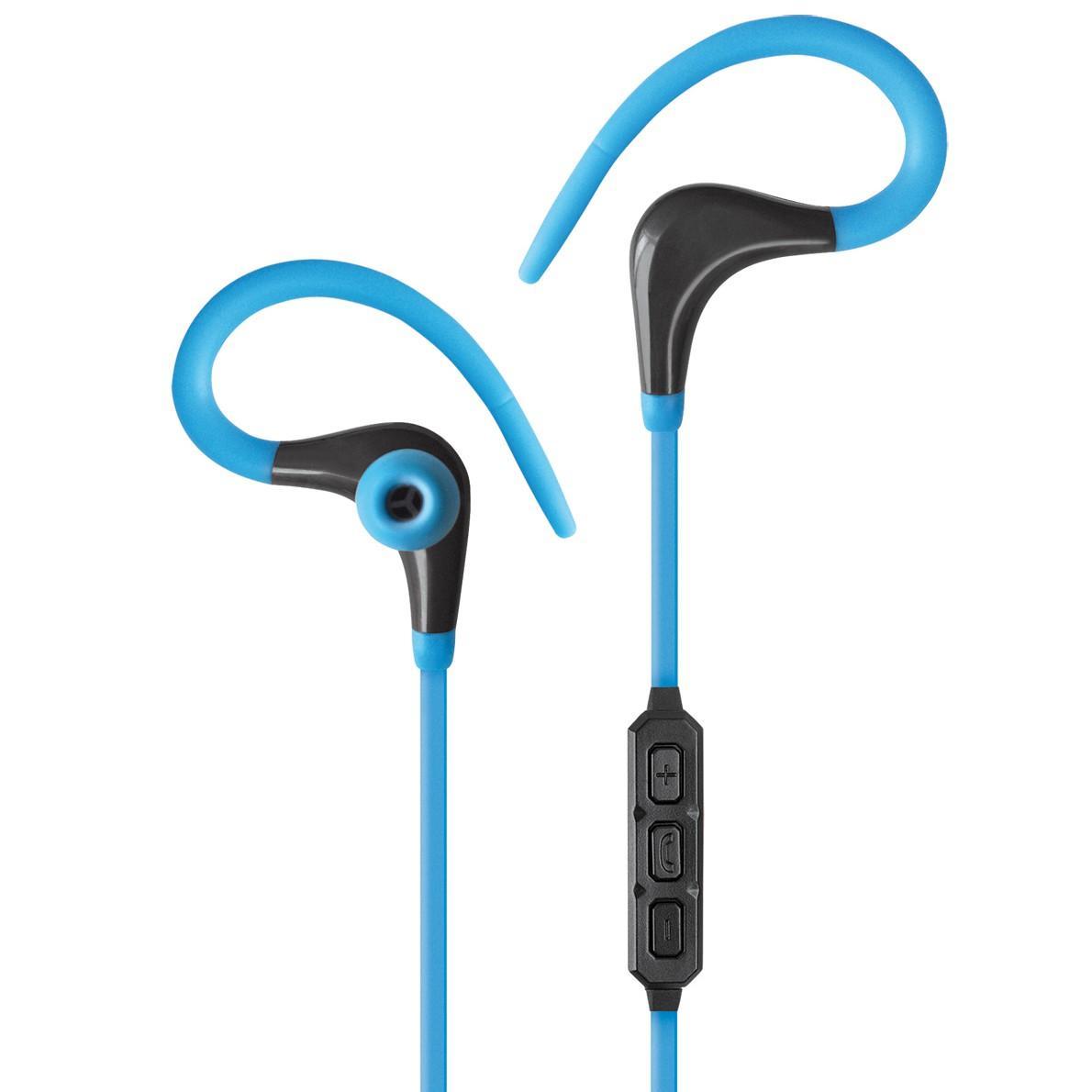 Auricolari Audio Stereo Bluetooth in-ear con Microfono Azzurro